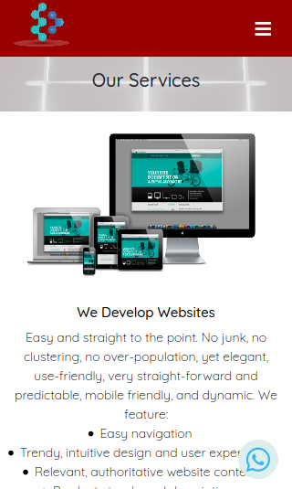 Webste development services